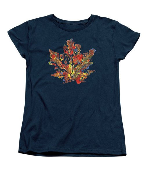 Painted Nature 1 Women's T-Shirt (Standard Cut) by Sami Tiainen