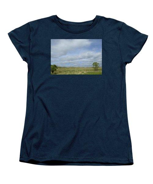 Painted Plains Women's T-Shirt (Standard Cut) by JoAnn Lense
