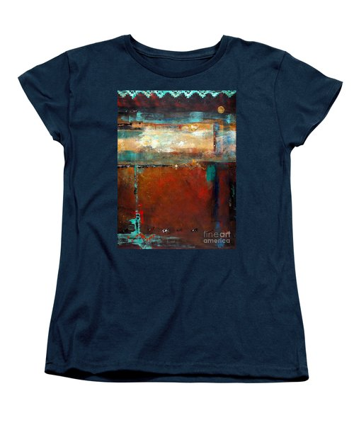 Painted Ponies Women's T-Shirt (Standard Cut) by Frances Marino
