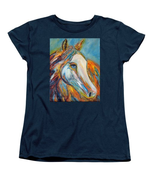 Painted Horse Sensation Women's T-Shirt (Standard Cut)
