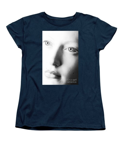 Pale Moonlight Women's T-Shirt (Standard Cut) by Robert WK Clark