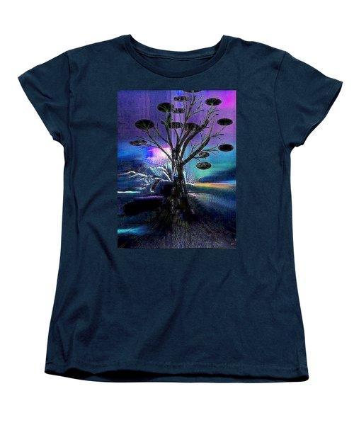 Pale Moonlight Women's T-Shirt (Standard Cut) by Yul Olaivar