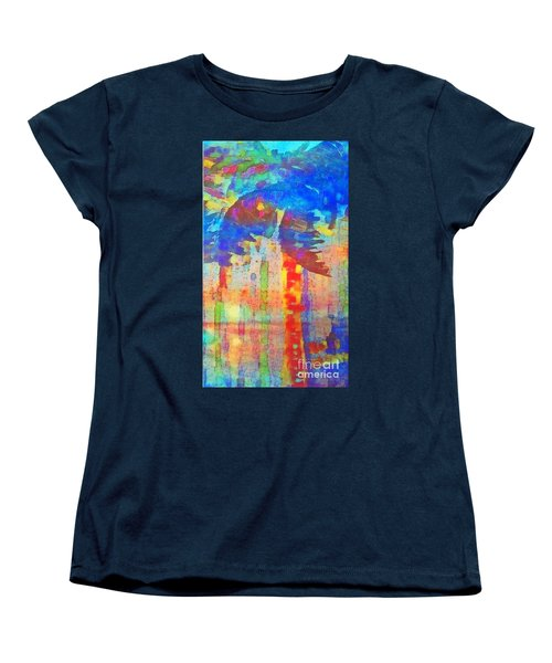 Palm Party Women's T-Shirt (Standard Cut) by Holly Martinson