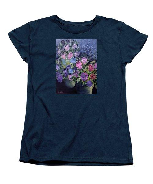 Palm Springs Market Favorites Women's T-Shirt (Standard Cut) by Joanne Smoley