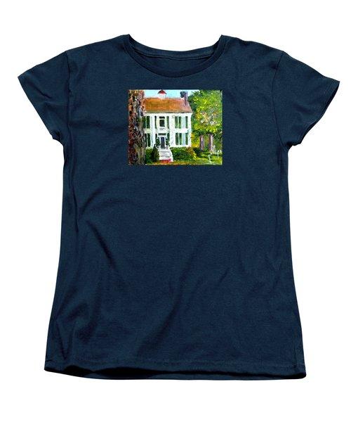 Palto Alto Plantation Up Close Women's T-Shirt (Standard Cut) by Jim Phillips