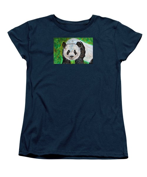 Panda Women's T-Shirt (Standard Cut)
