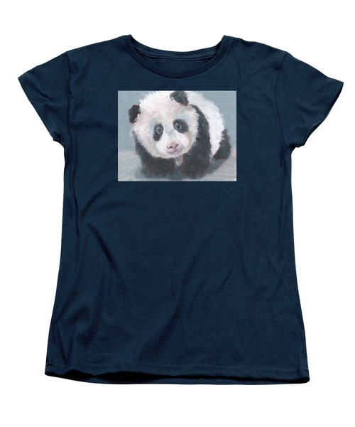 Panda For Panda Women's T-Shirt (Standard Cut) by Jessmyne Stephenson