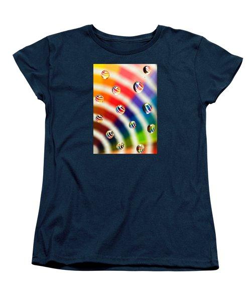 Pantone Bubbles Women's T-Shirt (Standard Cut) by Shawna Rowe