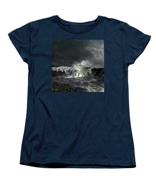 Paper Boat Women's T-Shirt (Standard Cut) by Evgeniy Lankin
