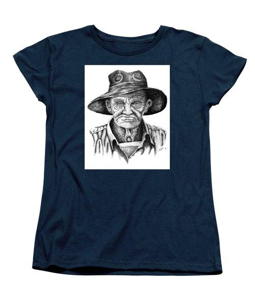 Pappy Women's T-Shirt (Standard Cut) by Lawrence Tripoli
