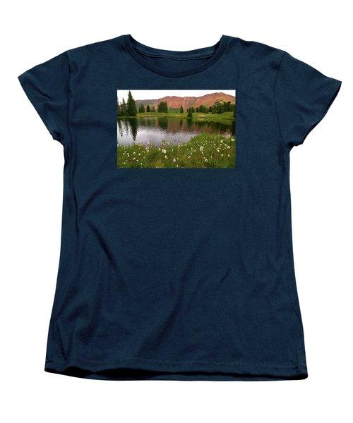 Women's T-Shirt (Standard Cut) featuring the photograph Paradise Basin by Steve Stuller
