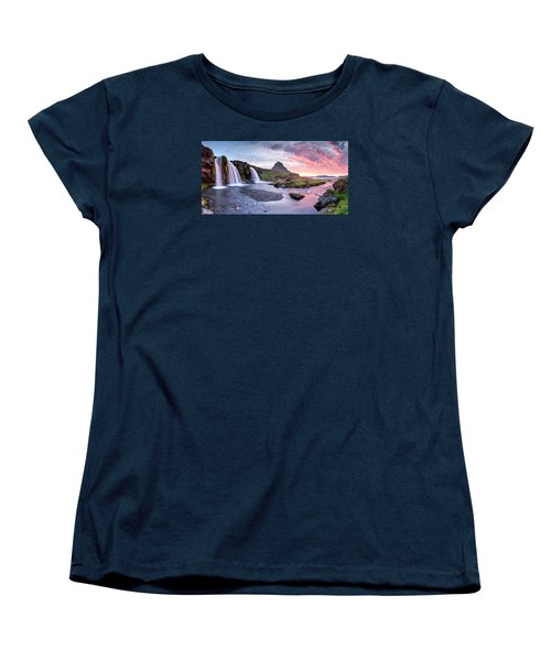 Paradise Lost - Panorama Women's T-Shirt (Standard Cut) by Brad Grove