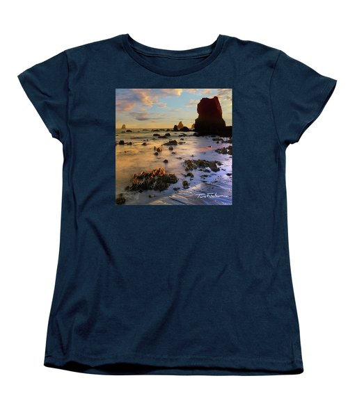 Paradise On Earth Women's T-Shirt (Standard Cut) by Tim Fitzharris