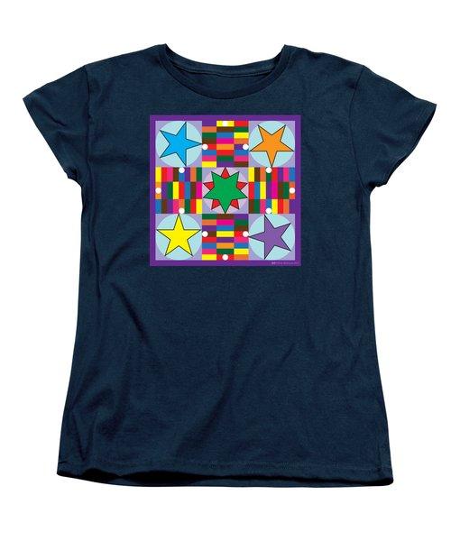 Parcheesi Board Women's T-Shirt (Standard Cut)