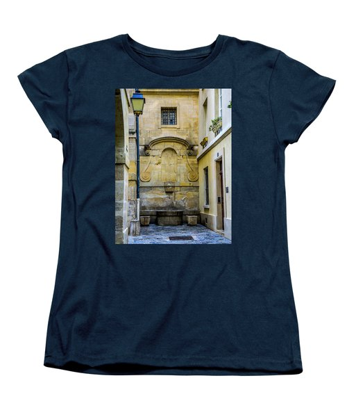 Paris Corner Le Marais Women's T-Shirt (Standard Cut) by Sally Ross