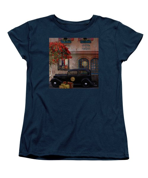 Paris In Spring Women's T-Shirt (Standard Cut) by Jeff Burgess