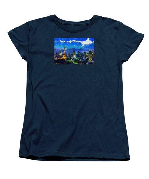 Paris Inside Tokyo Women's T-Shirt (Standard Cut)