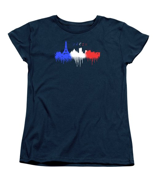 Paris Skyline  Women's T-Shirt (Standard Cut)