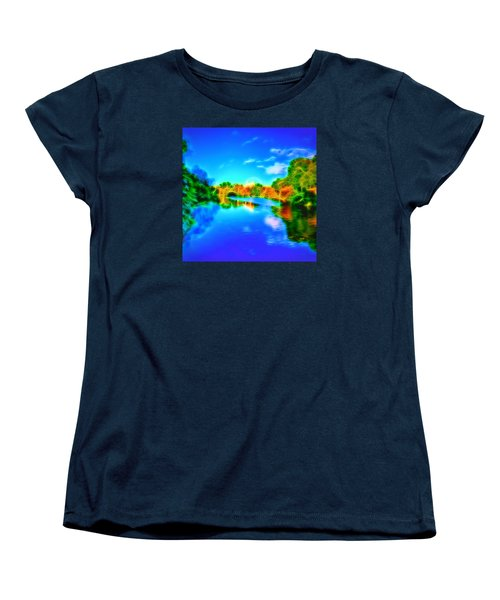 Women's T-Shirt (Standard Cut) featuring the photograph Parkland Symphony by Andreas Thust