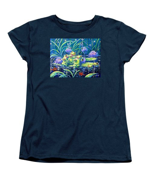 Party At The Pad Women's T-Shirt (Standard Cut) by Gail Butler