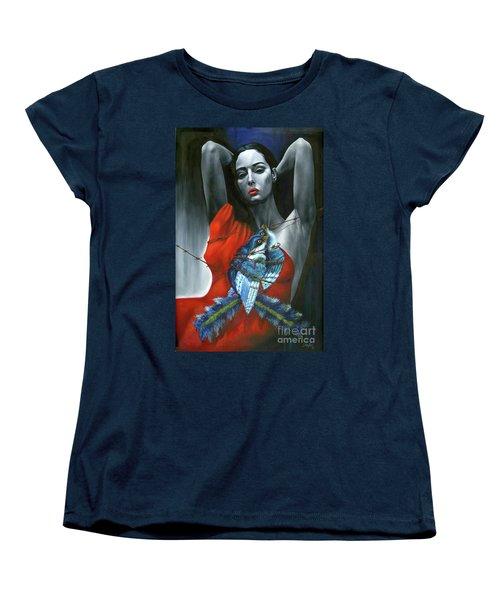 Pasion Por La Costumbre Women's T-Shirt (Standard Cut) by Jorge L Martinez Camilleri