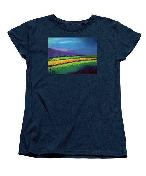 Passing Rain Women's T-Shirt (Standard Cut) by David Patterson