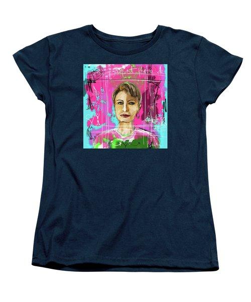 Passport Photo Women's T-Shirt (Standard Cut)
