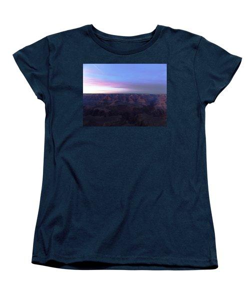 Pastel Sunset Over Grand Canyon Women's T-Shirt (Standard Cut) by Adam Cornelison