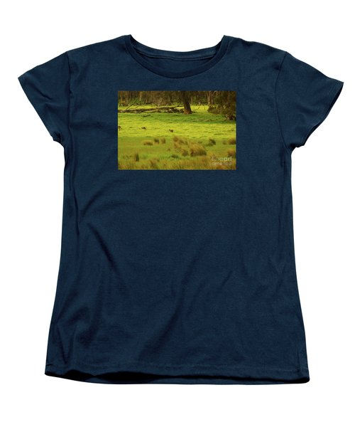 Pasture In Boranup Women's T-Shirt (Standard Cut) by Cassandra Buckley