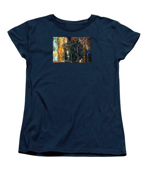 Patchworks 5 Women's T-Shirt (Standard Cut) by Newel Hunter