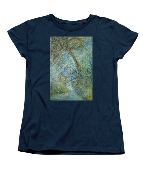 Path Of Invitation Women's T-Shirt (Standard Cut) by Roberta Rotunda