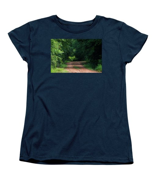 Women's T-Shirt (Standard Cut) featuring the photograph Path Of Light Horizontal by Shelby Young