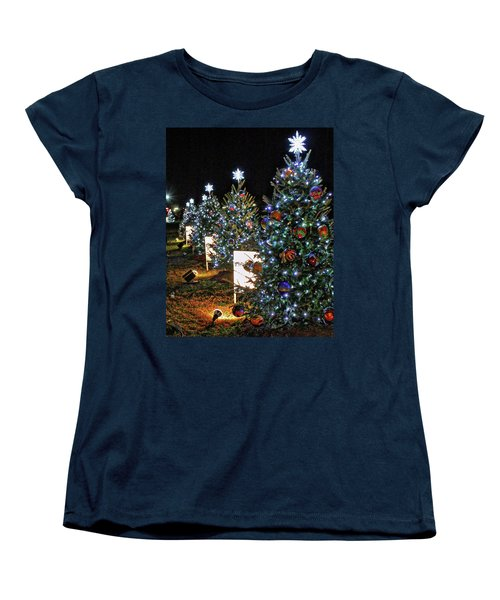 Pathway Of Peace Women's T-Shirt (Standard Cut) by Suzanne Stout