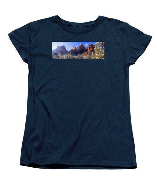 Women's T-Shirt (Standard Cut) featuring the photograph Patriarchs by Chad Dutson