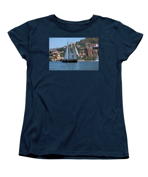 Women's T-Shirt (Standard Cut) featuring the photograph Patricia Belle 01 by Jim Walls PhotoArtist