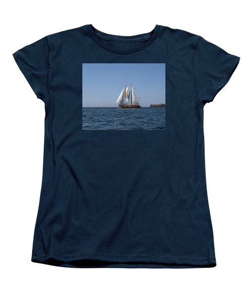 Women's T-Shirt (Standard Cut) featuring the photograph Patricia Belle 02 by Jim Walls PhotoArtist