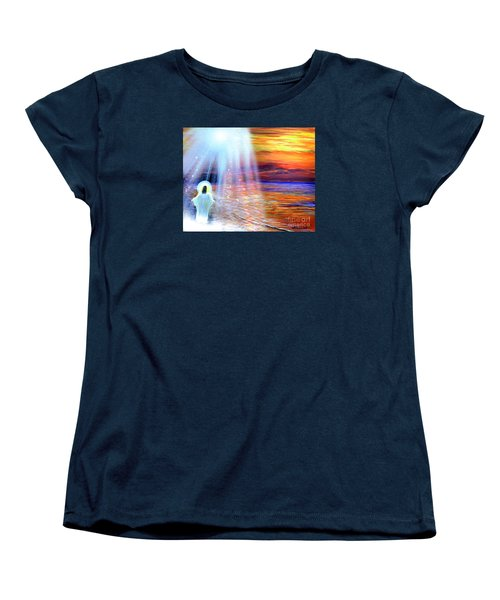 Peace Be With You Women's T-Shirt (Standard Cut) by Patricia L Davidson