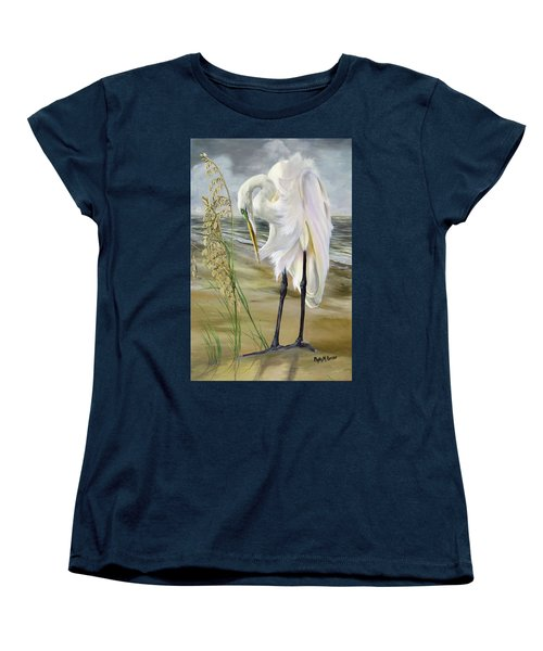 Peace In The Midst Of The Storm Women's T-Shirt (Standard Cut) by Phyllis Beiser