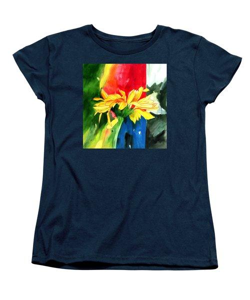 Peace Square Women's T-Shirt (Standard Cut) by Anil Nene
