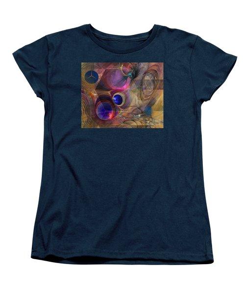 Peace Will Come Women's T-Shirt (Standard Cut) by John Robert Beck
