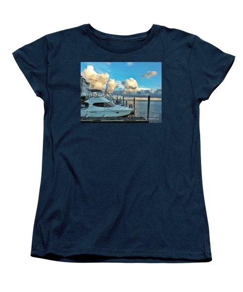 Peaceful Evening Walk  Women's T-Shirt (Standard Cut) by Christy Ricafrente