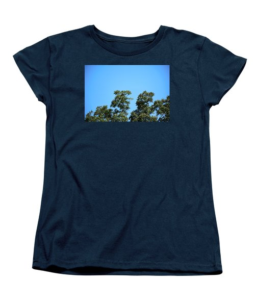 Women's T-Shirt (Standard Cut) featuring the photograph Peaceful Moment by Ray Shrewsberry