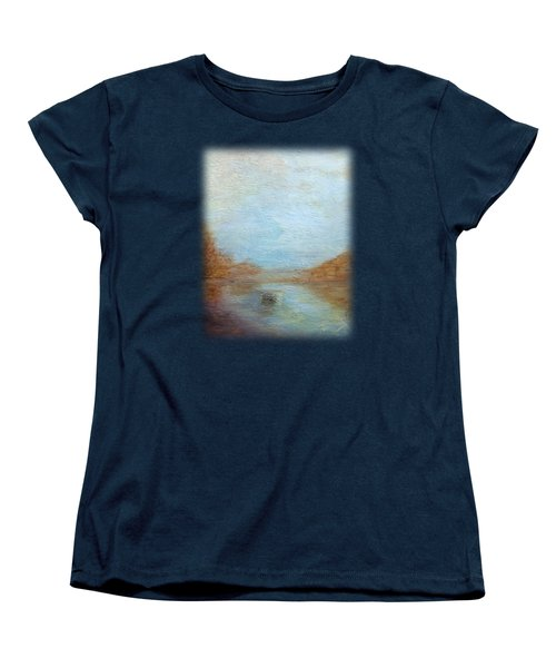 Peaceful Pond Women's T-Shirt (Standard Fit)
