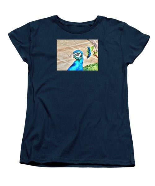 Peacock Women's T-Shirt (Standard Cut) by Yury Bashkin