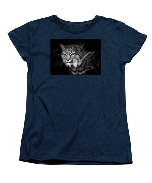 Peek A Boo Women's T-Shirt (Standard Cut) by Elaine Malott