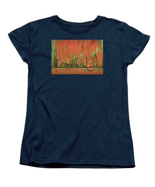 Women's T-Shirt (Standard Cut) featuring the photograph Peeling 4 by Mike Eingle