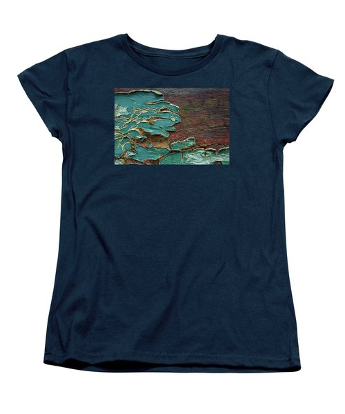 Women's T-Shirt (Standard Cut) featuring the photograph Peeling by Mike Eingle
