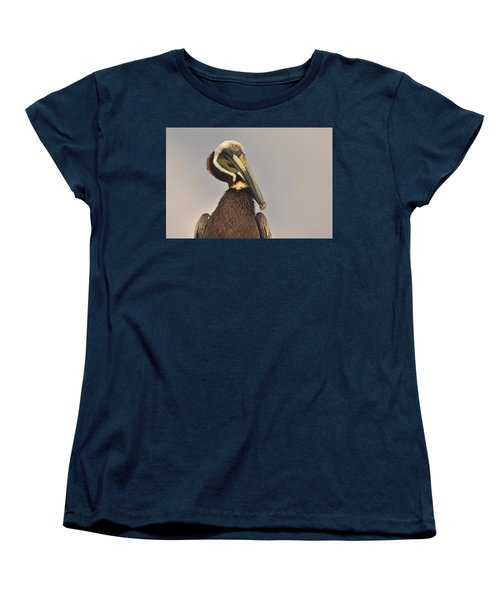 Pelican  Women's T-Shirt (Standard Cut) by Nancy Landry