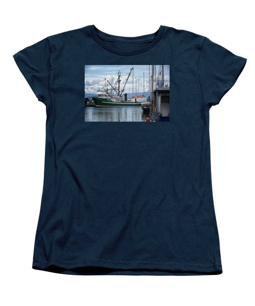 Pender Isle At French Creek Women's T-Shirt (Standard Cut) by Randy Hall