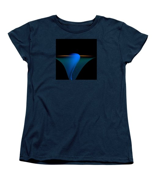 Women's T-Shirt (Standard Cut) featuring the painting Penman Original-329 by Andrew Penman
